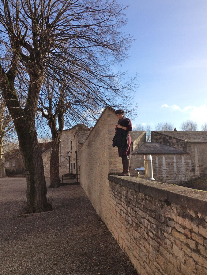 Sarah in Beaune