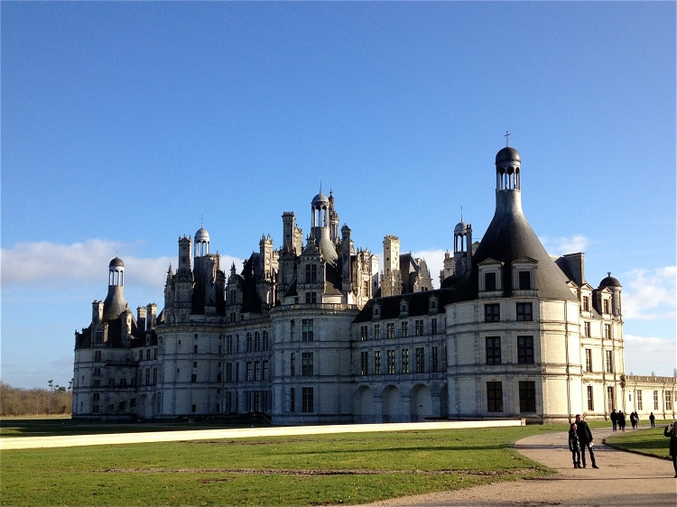 Chambord up close