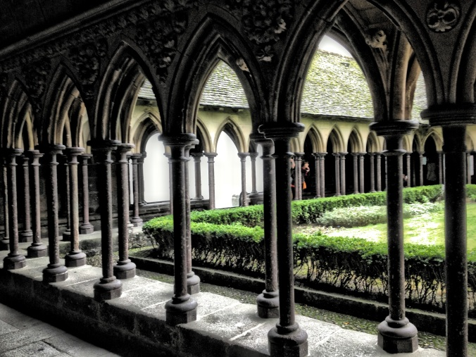 Cloister at Mont St. Michel