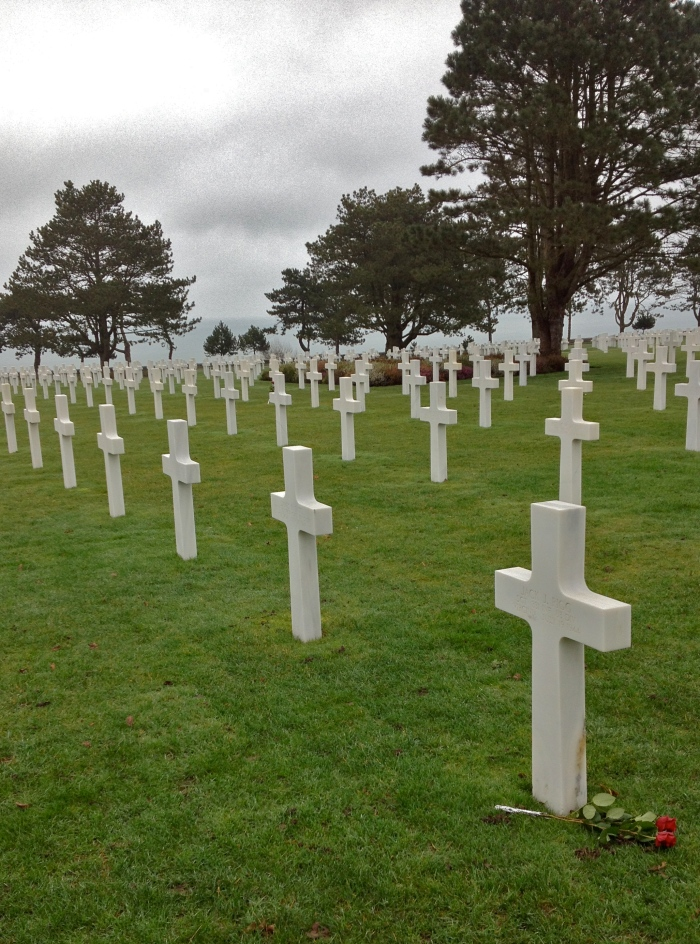 Cemetary at Normandy