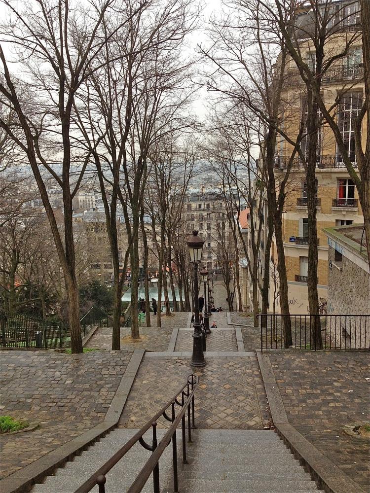 Montmartre steps