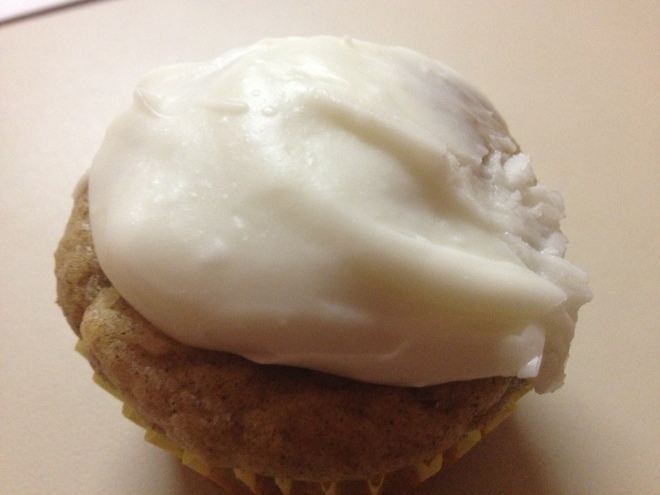 Photo of Banana Cupcake with Cream Cheese Frosting