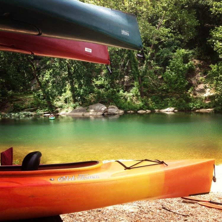 Kayak on the Big Sugar Creek