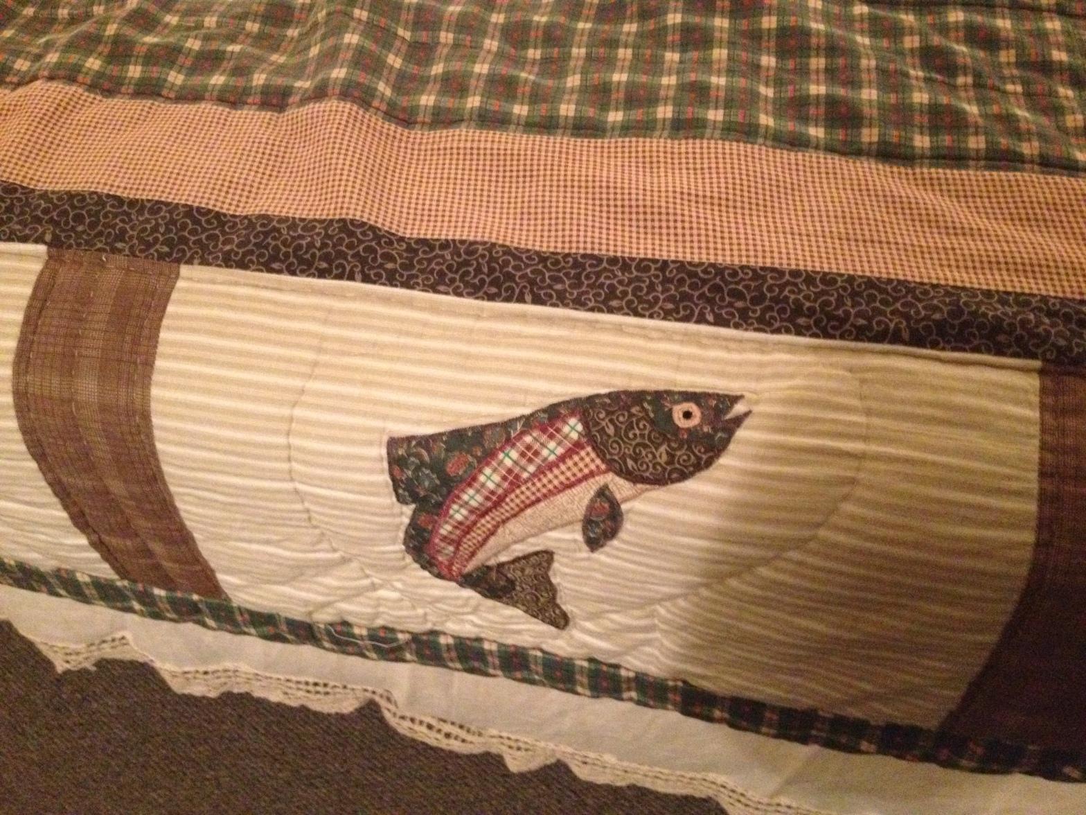 fish bedspread