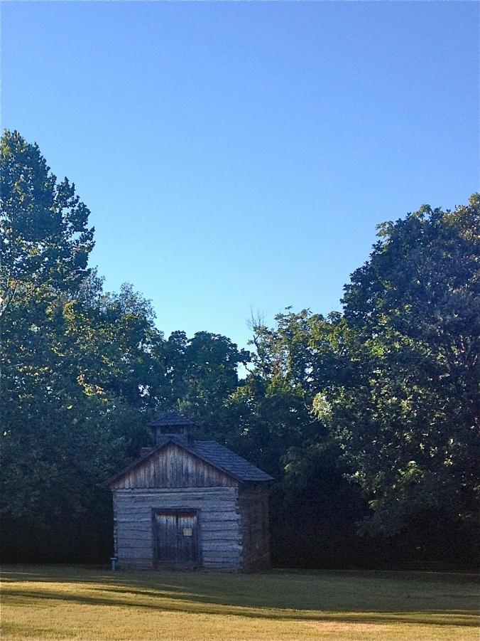 Historic building at Prairie Grove Battlefield State Park
