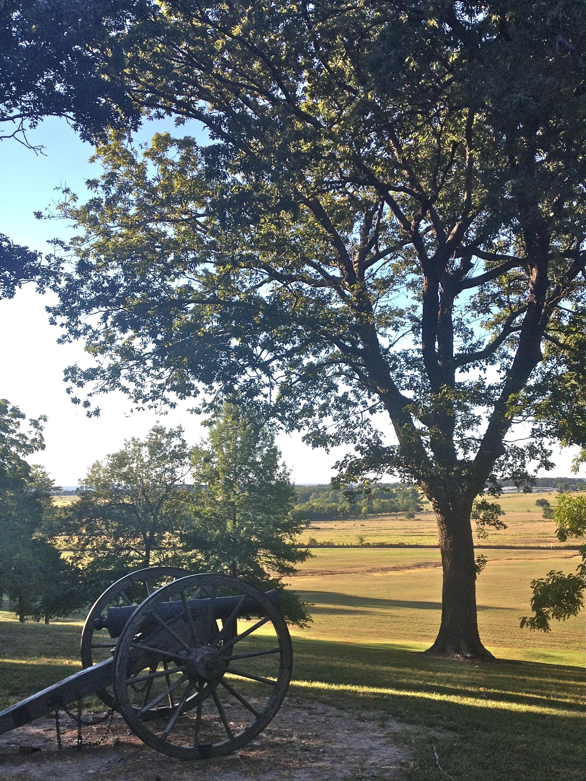 View of Prairie Grove Battlefield State Park