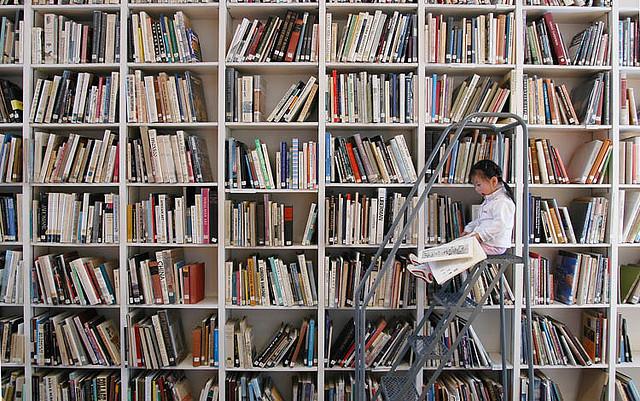 Bookcase photo