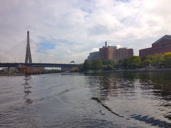 Boston from the Charles river