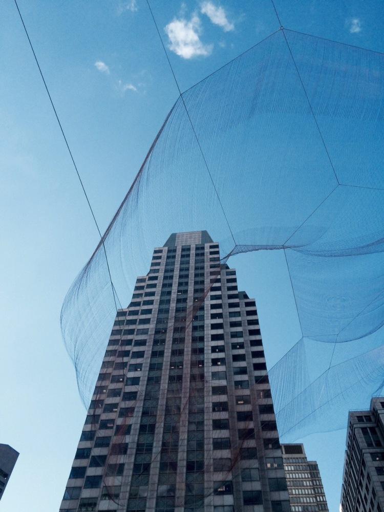Nets in the sky